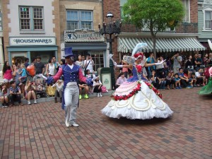 Dancers at Disney
