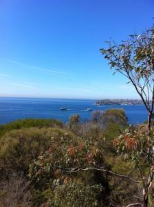 Australia blue skies