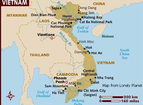 Walkabout vietnam map of vietnam gumiabroncs Choice Image