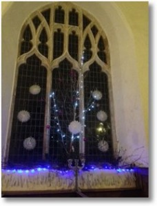 St Mary's church East Walton 2015 Carols in the Church